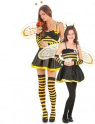 Costume coppia di api madre e figlia