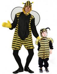 Costume coppia di api padre e figlio