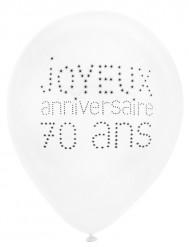 8 palloncini 70 anni