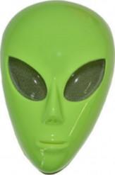 Maschera alieno verde adulto