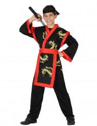 Costume samurai bambino