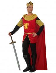 Costume Re medievale adulto