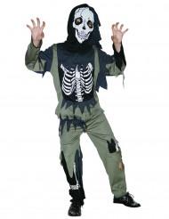 Costume da scheletro zombie bambino Halloween