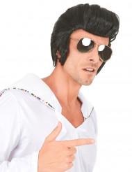 Parrucca da star del rock per uomo