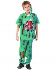 Costume dottore zombie chirurgo bambino