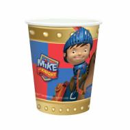 8 Bicchieri carta Mike il cavaliere™