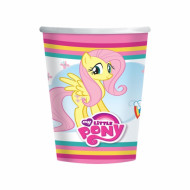 8 Bicchieri Carta My Little Pony™