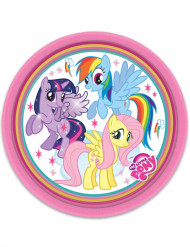 8 Piattini di carta My Little Pony™