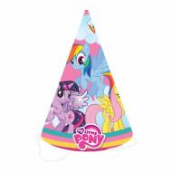 8 Cappellini da festa My Little Pony™
