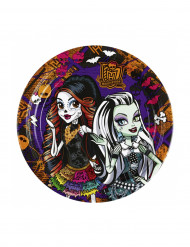 8 Piattini di carta Monster High™