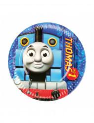 8 Piattini di carta Il trenino Thomas™