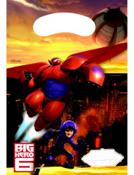 6 Sacchetti per caramelle Big hero 6™