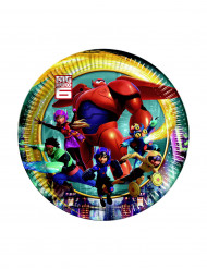 8 Piattini di carta Big hero 6™