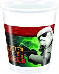 8 Bicchieri di plastica Star Wars rebels™