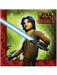 20 Tovagliolini di carta Star Wars rebels™