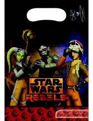 6 Sacchetti per caramelle Star Wars Rebels™