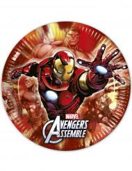 Confezione di 8 piatti The Avengers™