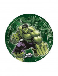 8 Piatti Hulk -The Avengers™