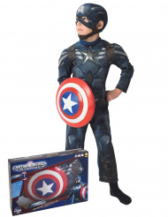 Costume Captain America The Winter Soldier™con cofanetto