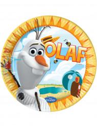 8 Piattini di carta Olaf™