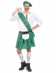 Costume scozzese verde uomo