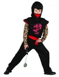 Costume ninja con dragone per bambino