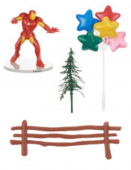 Kit decorativo per torte Iron man™