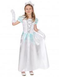Costume principessa bianca bambina