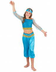 Costume odalisca azzurro bambina