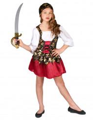 Costume da pirata con bandana per bambina