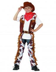 Costume cowboy pistolero per bambino