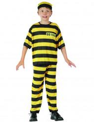 Costume galeotto giallo e nero bambino