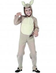 Costume da canguro beige per bambino