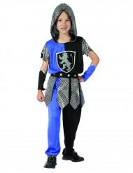 Costume cavaliere blu bambino