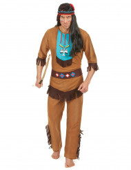 Costume indiano sioux per uomo