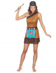 Costume corto da indiana donna