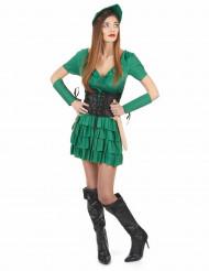Costume paladina del bosco donna
