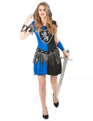 Costume Cavaliere blu donna