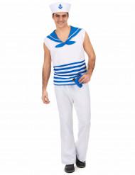 Costume marinaio uomo senza maniche