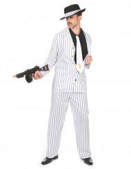 Costume da uomo anni '20 di colore bianco