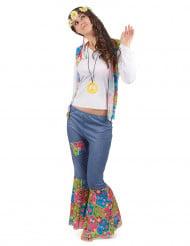 Costume hippie donna