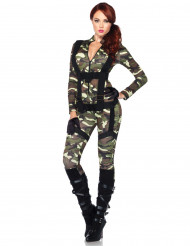 Travestimento militare sexy donna
