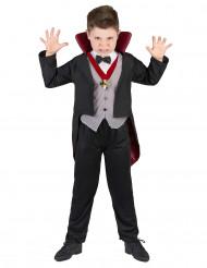 Costume con doppiopetto da vampiro bambino