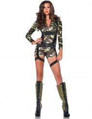 Costume da soldatessa sexy per donna