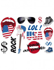 Stickers murali USA