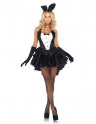 Costume coniglietta sexy ed elegante donna