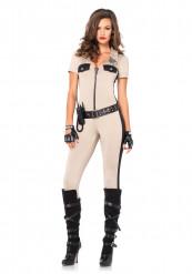 Costume poliziotta americana