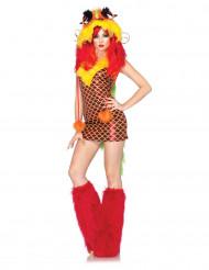 Costume drago orientale per donna