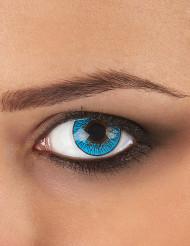 Lenti a contatto fantasia blu cielo