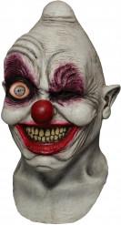 Maschera da clown malefico di halloween animata